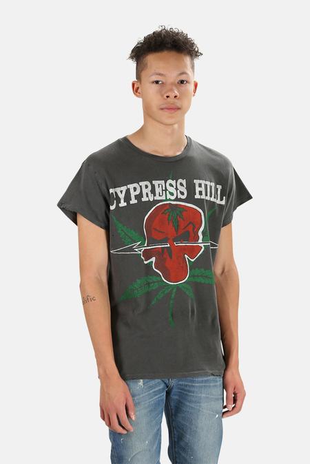 MadeWorn Rock Cypress Hill Graphic T-Shirt - Dirty Black
