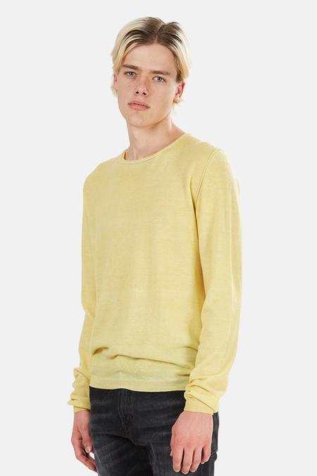 120% LINO Cashmere Sweater - Blazing Yellow Cloud