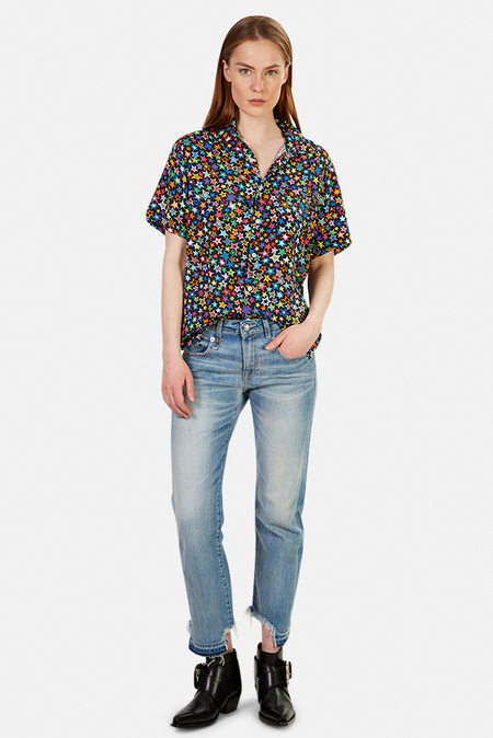 Women's R13 Tony Shirt - Multistar
