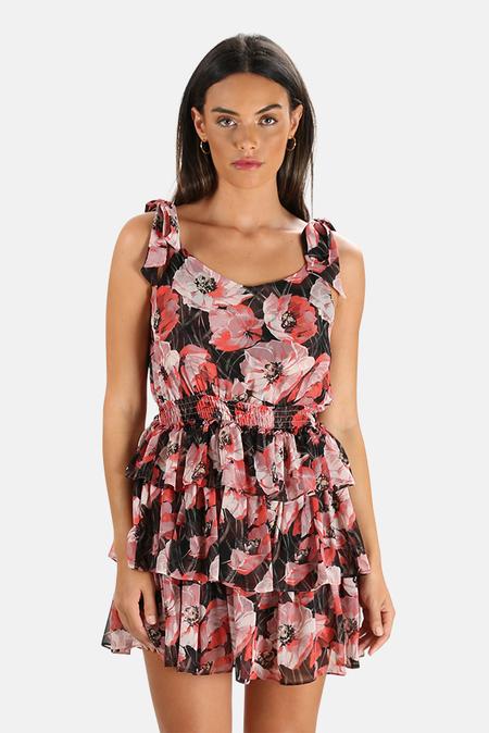 MISA Los Angeles Salome Dress - Pink floral