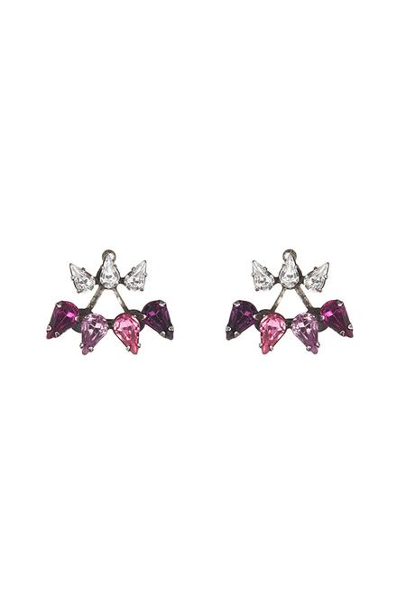 Dannijo Ellie Earrings - Pink
