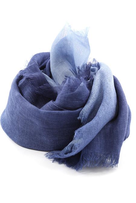 Destin Quadra Ombre Scarf - Light Blue