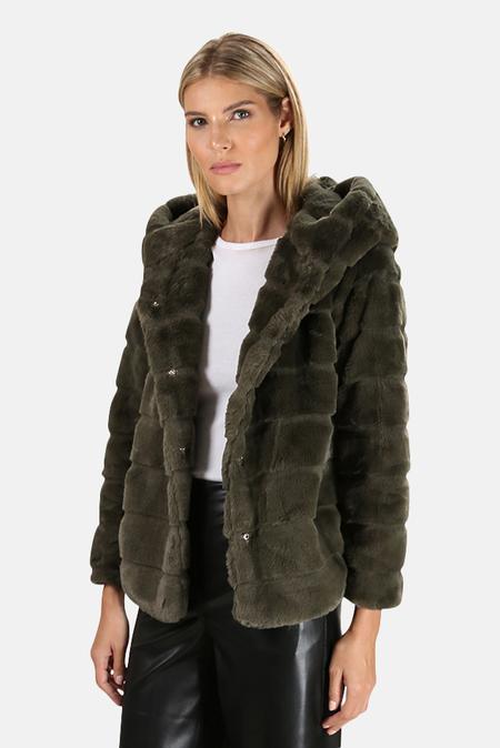 Apparis Goldie Coat - Army Green