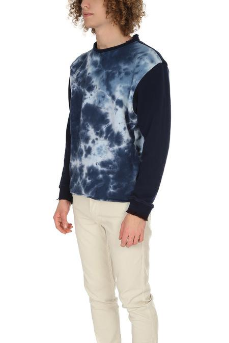 Long Journey Longjourney Nash Sweatshirt - Blue Tie Dye