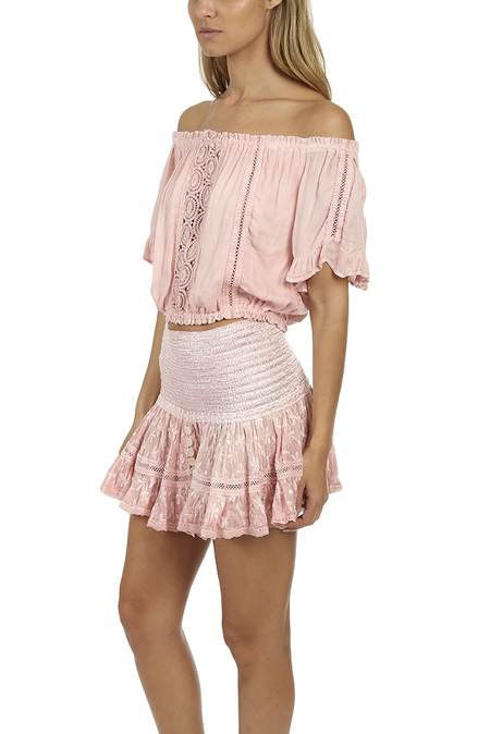 Sunday Saint-Tropez Loulou Top - Pink washed