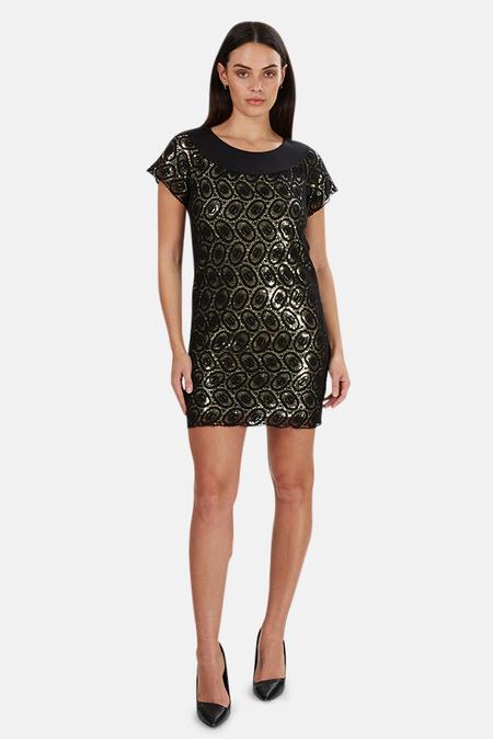 3.1 Phillip Lim 3.1 Phllip Lim Sequin Dress - Black/Gold