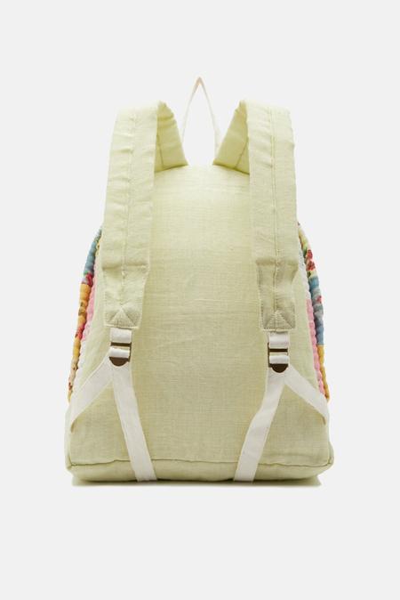 LoveShackFancy Mini Vega Backpack - Multi