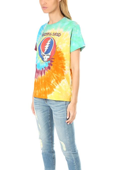 R13 Grateful Dead Boy Tee - tie dye