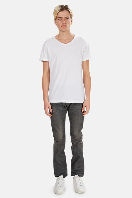 Fabric Brand & Co Slim Fit Denim Pants - Grey