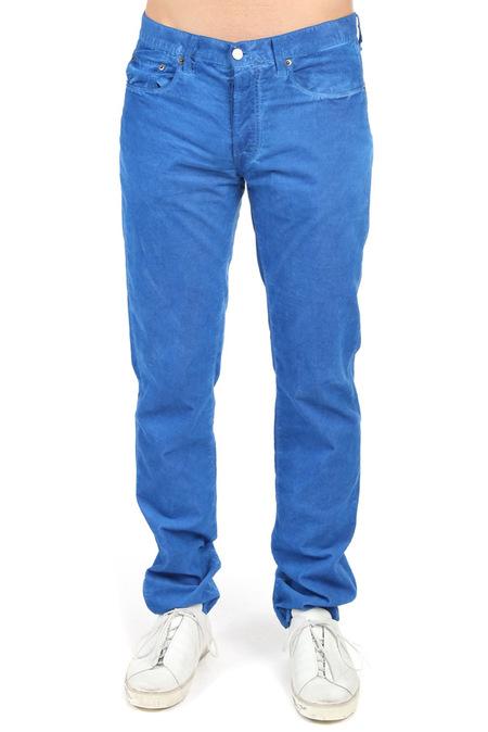 Massimo Alba 5 Pocket Alunga Pants - Blue