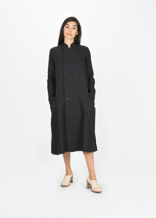 Aleksandr Manamis Double Button Trench