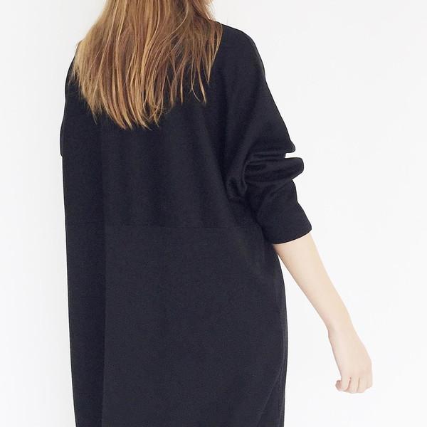 Oversized Black Tunic