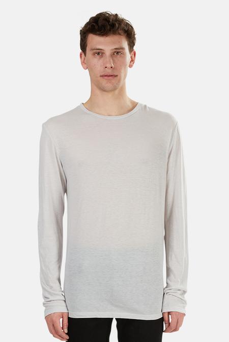 Blue&Cream 66 LS T-Shirt - Light Grey