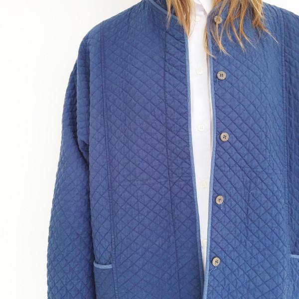 Quilted Indigo Jacket