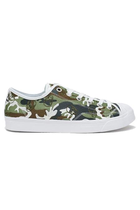 UNISEX Lucien Pellat-Finet Classic Camo Sneaker Shoes - Light Classic Camouflage