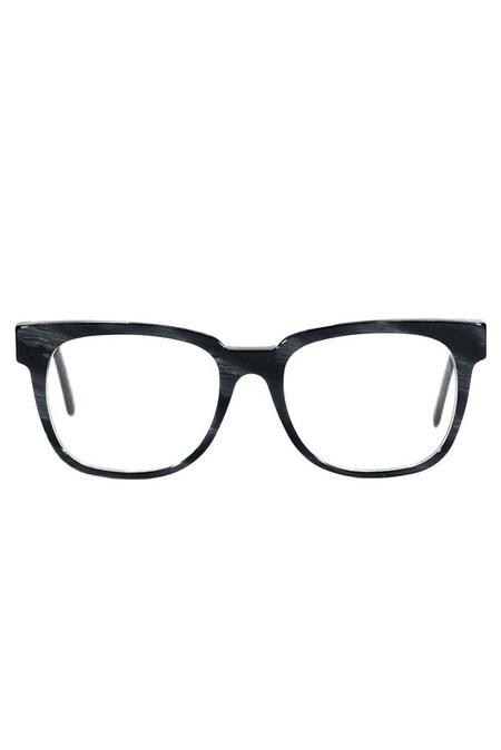 RetroSuperFuture People Optical Sunglasses - Black Horn