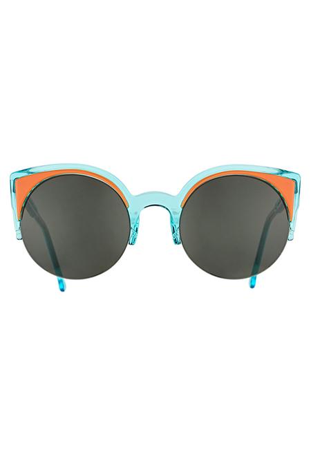 RetroSuperFuture Lucia Surface Sunglasses - Anice