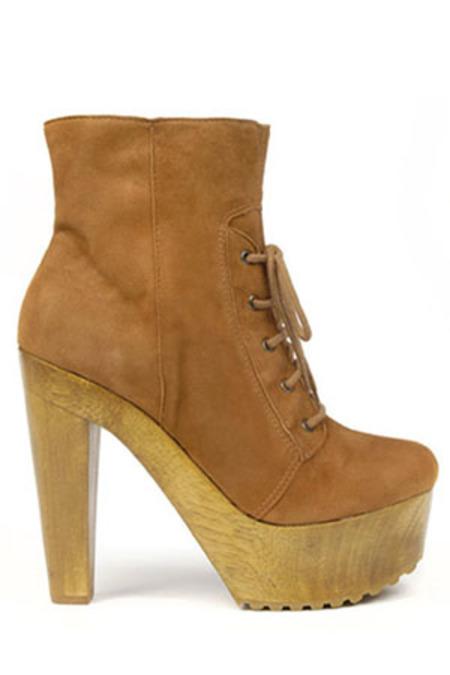 Madison Harding Jack Bootie Shoes - Camel
