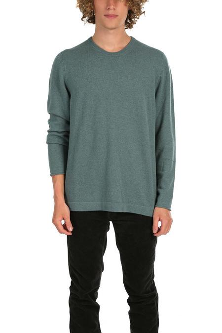 massimo alba Crewneck Sweater - Washed Green