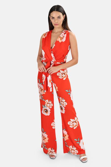 MISA Los Angeles Kimora Jumpsuit - Poppy floral