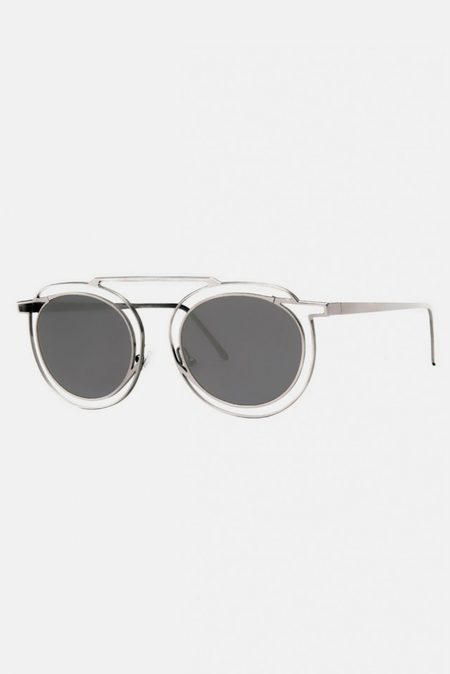 Thierry Lasry Potentially Glasses - Silver/Solid Grey