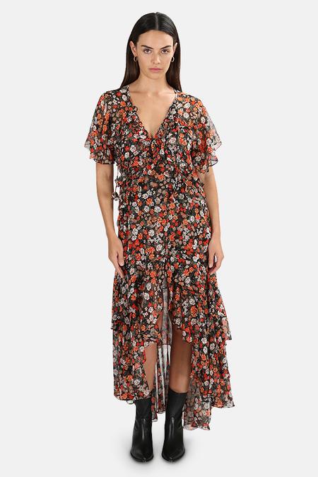 MISA Los Angeles Katarina Dress - Safari Floral