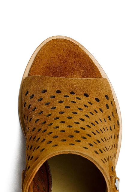 Rag & Bone Wyatt Sandal Shoes - Tan