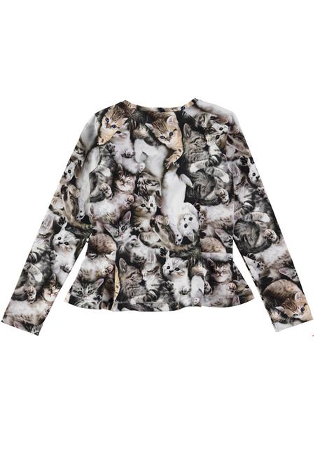 Kids Molo Raelicka Long Sleeve T-Shirt - Miauuu
