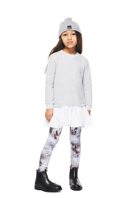Kids Molo Niki Leggings - Pony Jersey