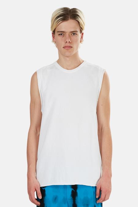 Alexander Wang Cotton Sweat Muscle Tank Top - White