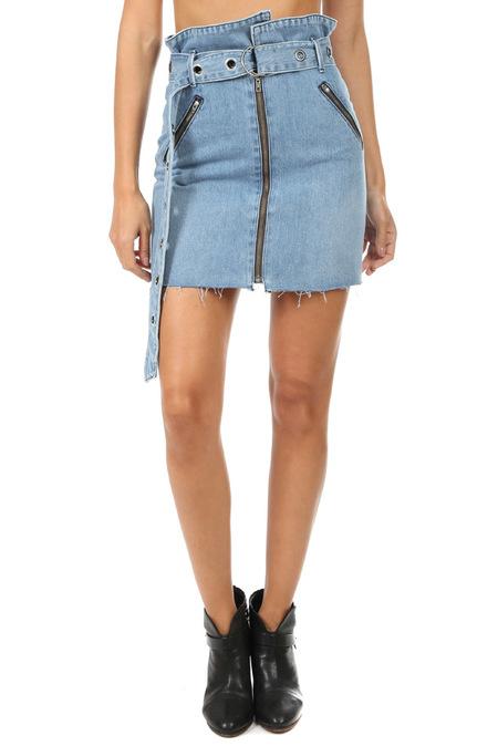 GRLFRND Ava Mini Skirt - Strap Me In