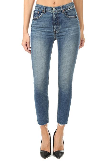 GRLFRND Karolina High Rise Skinny Pants - Blue