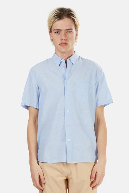 La Paz Ribeiro Pocket Shirt - Blue