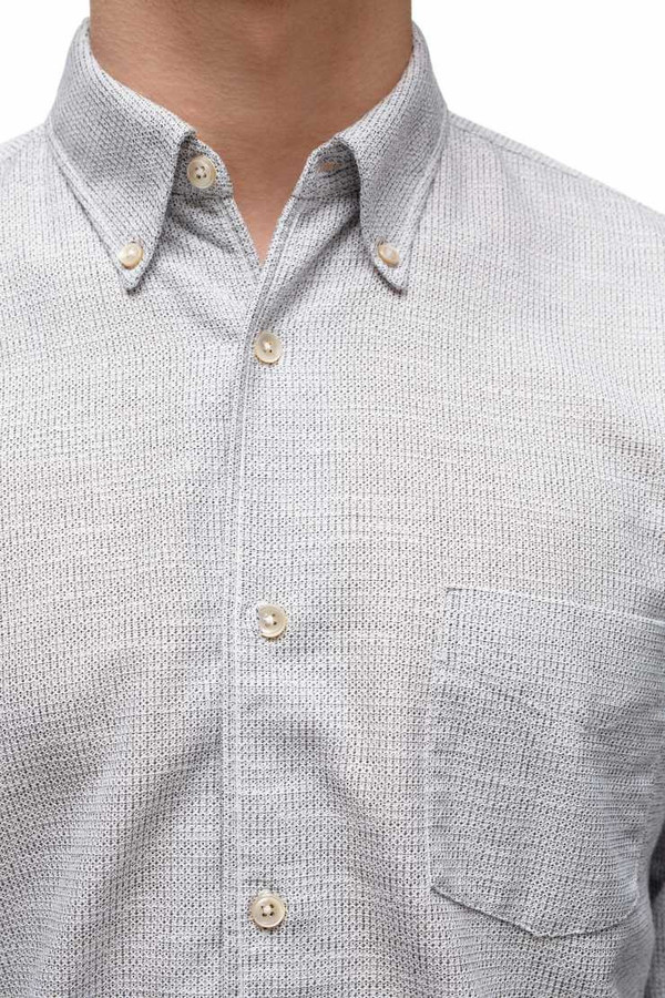 Men's OUR LEGACY - 1950's Light Grey Waffle Shirt
