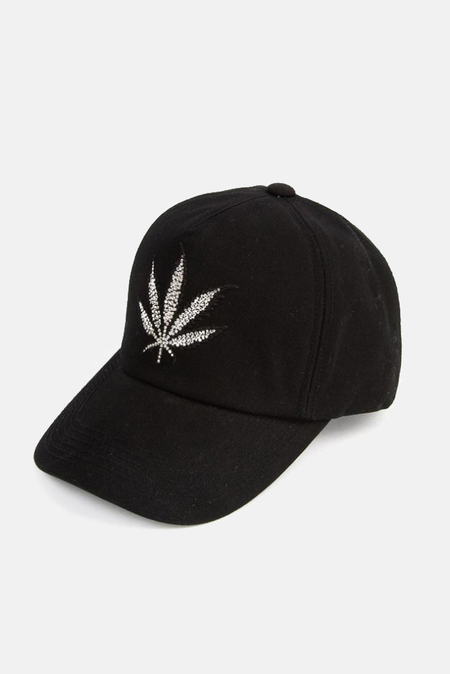 Lucien Pellat-Finet Leaf cap - Black