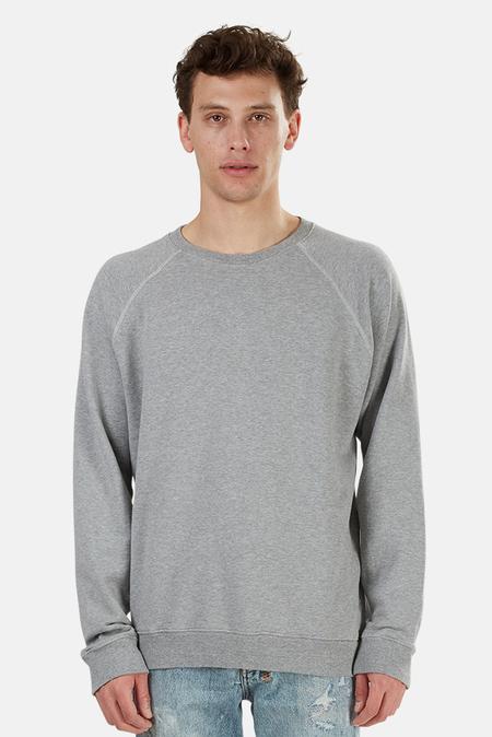 RE/DONE 50s Crew Sweatshirt Sweater - Heather Grey
