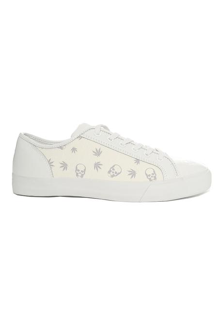 Lucien Pellat-Finet Monogram Mix Sneaker Shoes - White