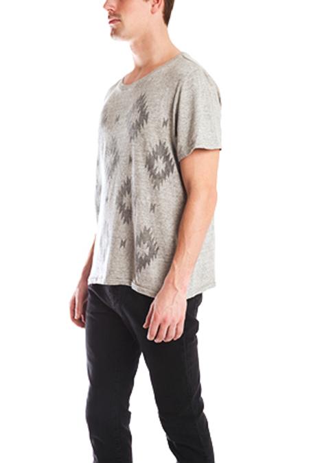 Remi Relief Ikat T-Shirt - Grey