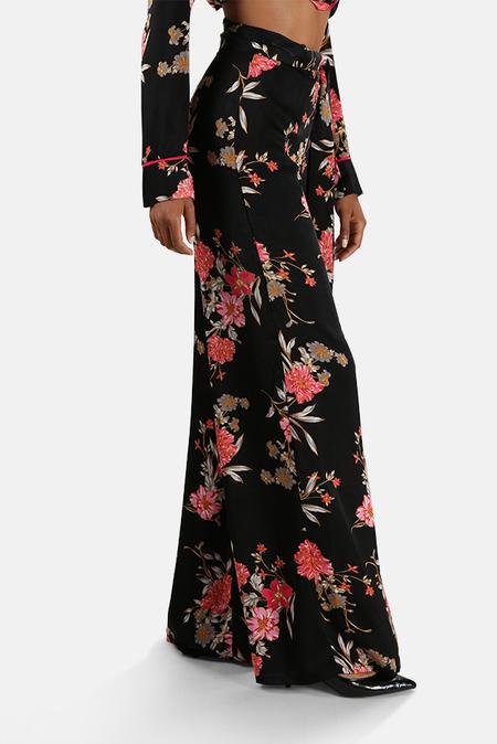 MISA Los Angeles Aliya Pants - Black Floral
