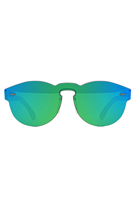 RETROSUPERFUTURE Tuttolente Paloma Holographic Sunglasses - Green