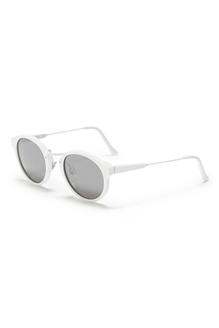 RETROSUPERFUTURE Panama Metric Sunglasses - White