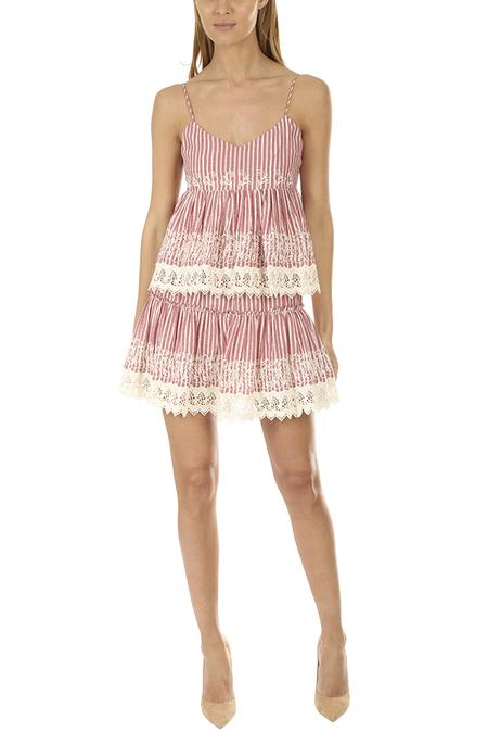 MISA Los Angeles Silvia Skirt - Pink