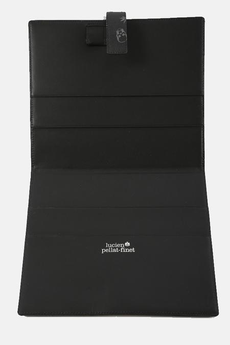 Lucien Pellat-Finet Monogram PC Case - Black/Derby Grey