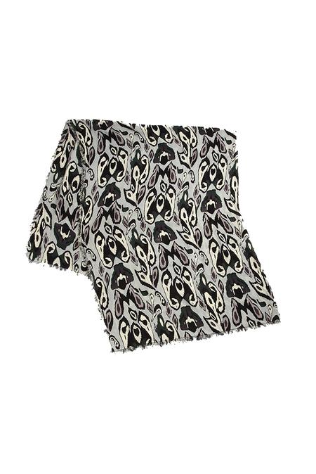Rag & Bone Ikat Scarf - Grey