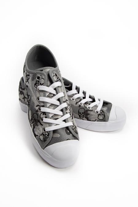 Lucien Pellat-Finet Camo Sneaker Shoes - Grey Camo