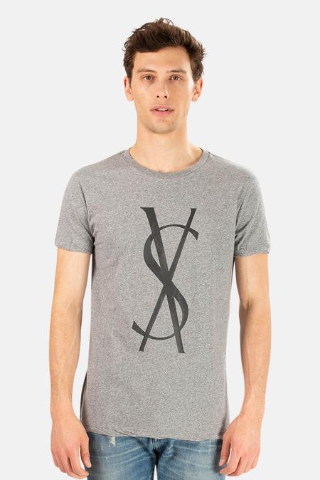 Ksubi Fancy Dollar T-Shirt Pants - Grey Marl