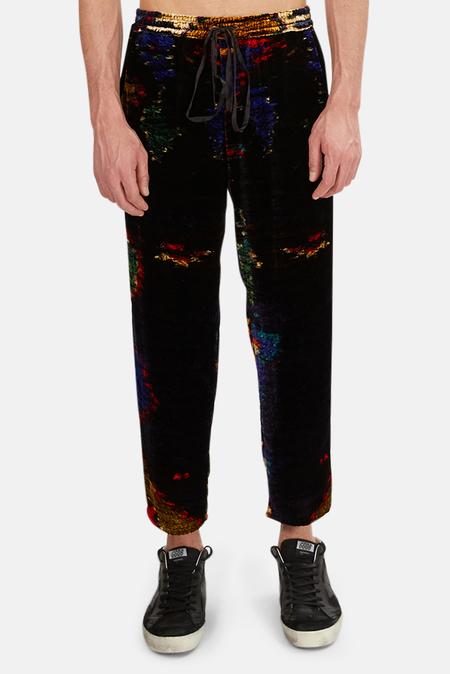 Pierre-Louis Mascia Kanpur Velvet Trousers - multi