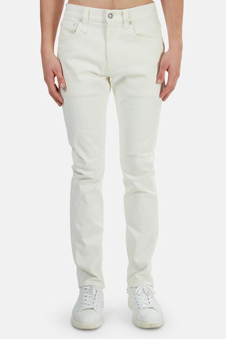R13 Skate Jeans - rinsed White