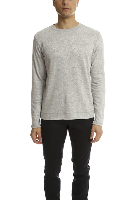 Norse Projetcts Hafdan Sweater - Light Grey Melange