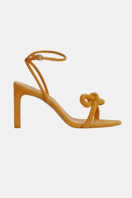 Zimmermann Sculptural Bow Heel Shoes - Oro